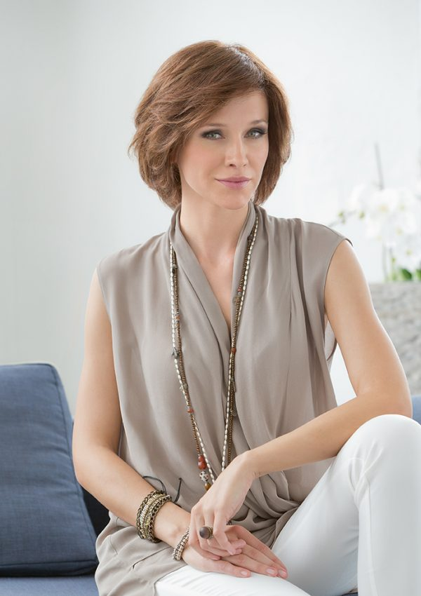 Brilliance by Ellen willw pure power collection mono top lace front remy human hair full hand tied wig