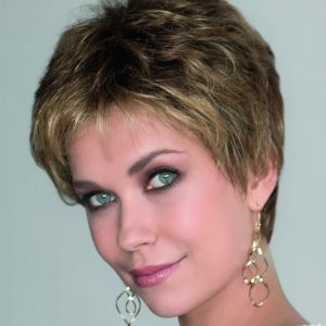 Air by ellen wille hair society luxury collection lace front mono top full hand synthetic wig