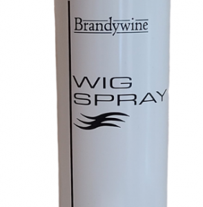 A must-have weapon against the elements, this wig spray firmly holds your wig's style in place while maintaing touchability. Brandywine Wig spray is comprised of a clear, water-soluable formula.