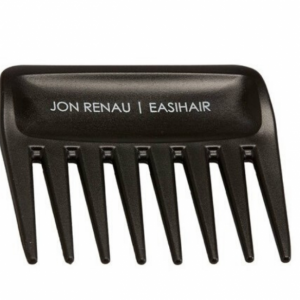 Untangle knots without doing unnecessary damage to your extensions, wigs, or hairpieces. Compatible with every style of hair, this wide tooth comb by Jon Renau mimiks the motion of running fingers through your hair without yanking or pulling.